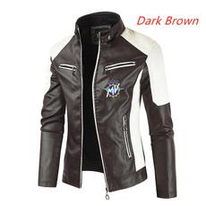 motorcyclejacket, locomotiveleathercoat, Fashion, leather