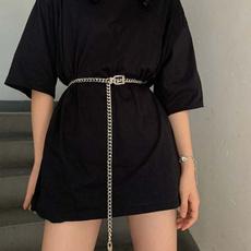 decorativewaistband, Fashion, Chain, Dress