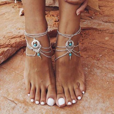 Tassels, Sandals, Jewelry, Chain