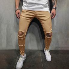 pencil, ripped, Fashion, pants