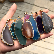 crystal pendant, Jewelry, Colorful, crystalstone