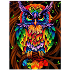 Craft Supplies, Owl, Design, DIAMOND