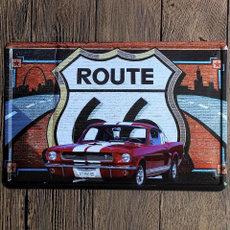 , route66, house, Stickers