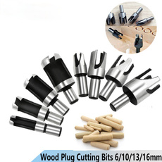 Wood, cuttingtoolsforwood, Tool, plugcutterset