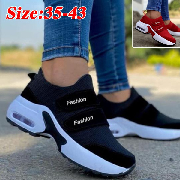 casual shoes, wedge, Sneakers, shoes for womens