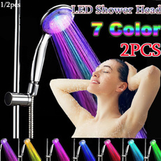 Shower, Head, led, Colorful