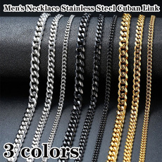 Steel, Chain Necklace, mensnecklacechain, Chain