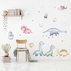 artwall, animalwallsticker, childrensroomdecoration, Dinosaur