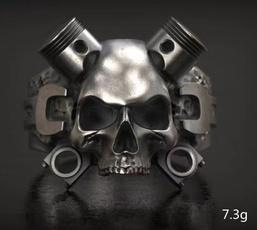 ringsformen, Goth, Fashion, Stainless Steel