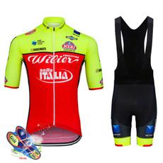 Green, Summer, Shorts, Cycling