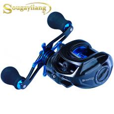 Fiber, Bass, baitcastingfishingreel, castingreel