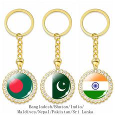 flagkeychain, pakistanflag, Key Chain, Jewelry