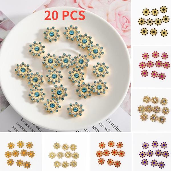 flowerrhinestone, DIAMOND, flowercrystal, Jewelry