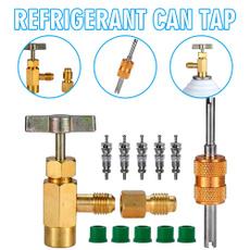 Brass, refrigerantcantap, refrigerant, cartruckpart
