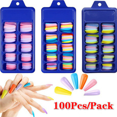 manicure tool, nail tips, Colorful, Beauty