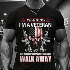 veterantshirt, Fashion, skullshirtformen, skull
