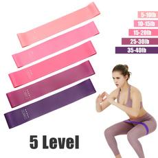 elasticbandsforfitne, Woman, Yoga, exerciseequipment