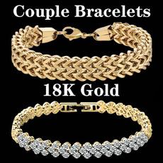 Charm Bracelet, Fashion, gold, leafbracelet