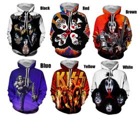 3D hoodies, trending, Hoodies, kissband