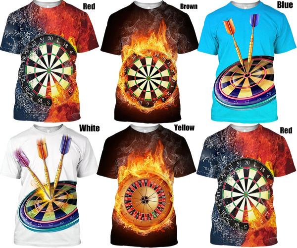 Summer, shortsleevestshirt, 3dmentshirt, noveltytshirt
