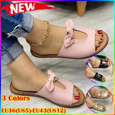 non-slip, bowknot, Sandals, bohemia