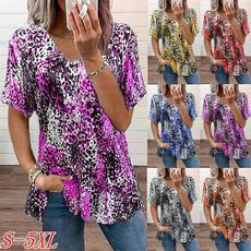 Summer, Plus Size, tshirtsblouse, blouse