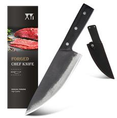 forgedknife, Kitchen & Dining, leather, knivesknifeset