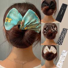 hairstyle, hairbun, donut, Elegant