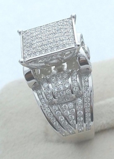 Sterling, 925 sterling silver, 925 silver rings, Engagement Ring