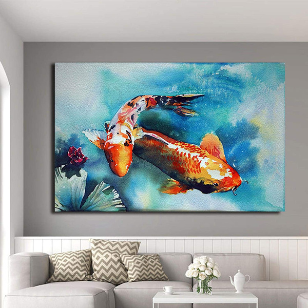 koi, Pictures, art, Chinese