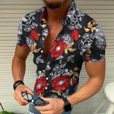 Summer, hawaiianshirtformen, Fashion, beachshirt