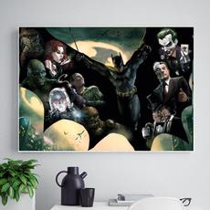 DIAMOND, Home Decor, marvelhero, Batman