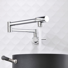 Faucets, Wall Mount, Pot, Kitchen & Dining