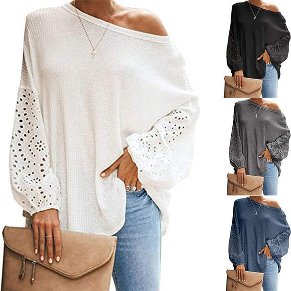 strapless, Sleeve, loose top, Long Sleeve
