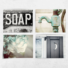 Bathroom, toiletwallposter, restroomwalldecor, Vintage