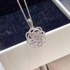 Flowers, 925 sterling silver, lover gifts, Gifts
