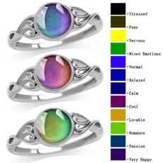 Antique, Vintage, crystal ring, zirconring