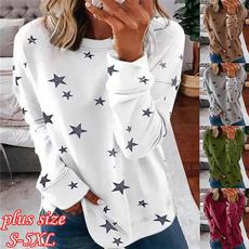 Plus Size, Women Blouse, Long Sleeve, Autumn Shirts