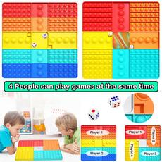 rainbow, pushbubbletoy, Chess, Children's Toys