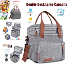 insulated, Fashion, Capacity, menlunchbag