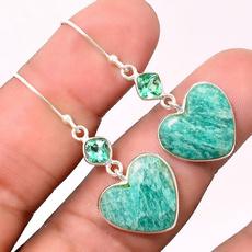 Heart, Jewelry, Gifts, ear studs