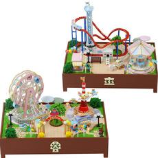 Mini, woodeneducationaltoy, dollhousefurniture, led