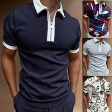 Summer, lapeltshirt, Polo Shirts, Shirt