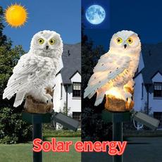Owl, Home Decor, solargardenlight, Garden
