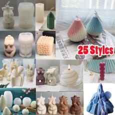 Silicone, candlemaking, Handmade, soapmold