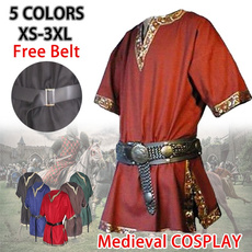 Plus Size, Medieval, tunic top, Cosplay Costume