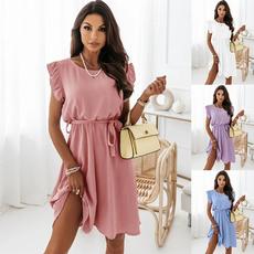 Summer, woman fashion, Fashion, ruffled