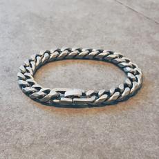 viking, Steel, bracelethombre, Jewelry