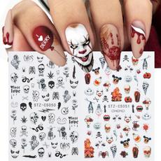 Head, Beauty, Stickers, Halloween