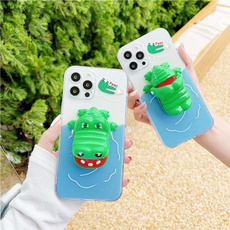 case, Funny, Cases & Covers, bitefingercrocodile